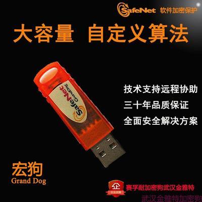 SafeNet宏狗1K内存加密狗彩虹USB加密狗GrandDog赛孚耐空白